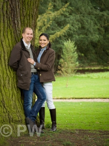 Man & Woman by tree