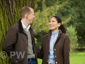 Man & Woman laughing