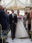 Walking out of the Orangery - Married